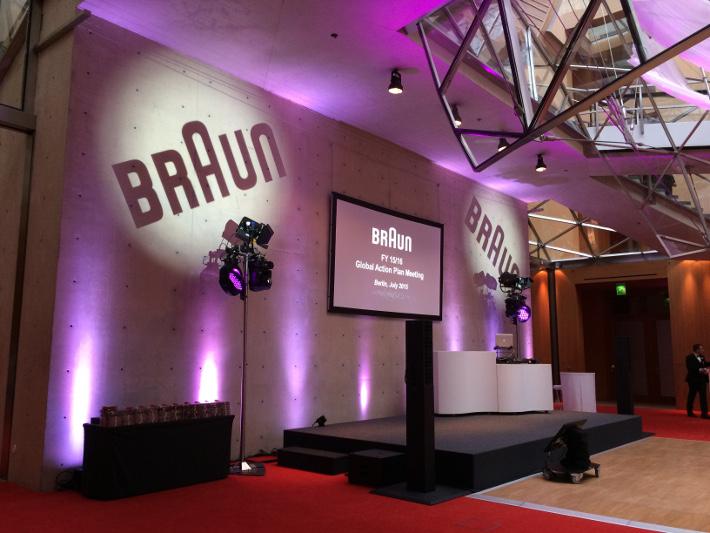 Event DJ Berlin im Axica für Braun