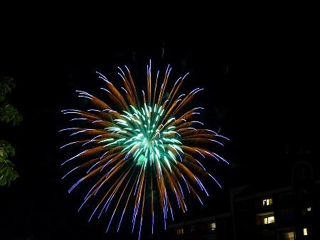 Feuerwerk zur Hochzeit auf Usedom