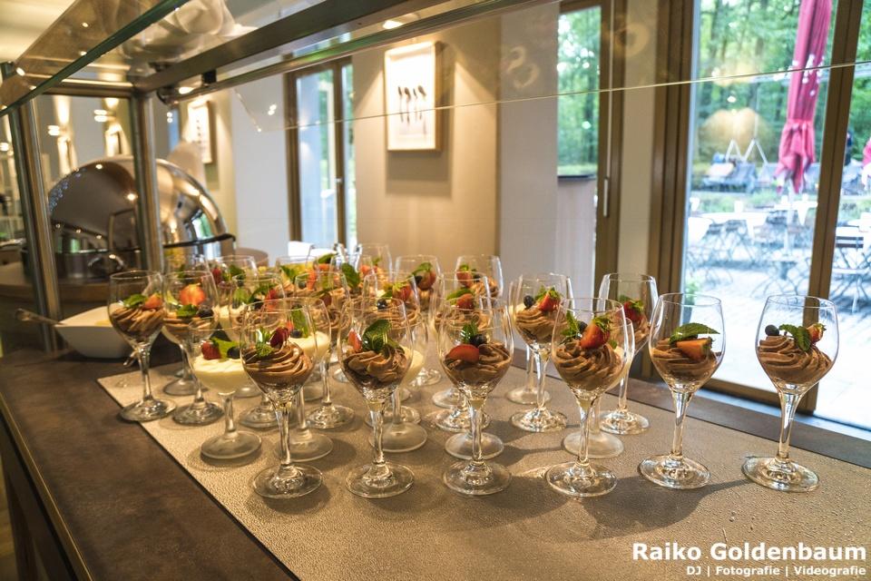 Ringhotel Schorfheide Hochzeit Dessert