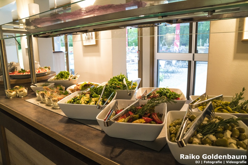 Ringhotel Schorfheide Hochzeit Salatbuffet