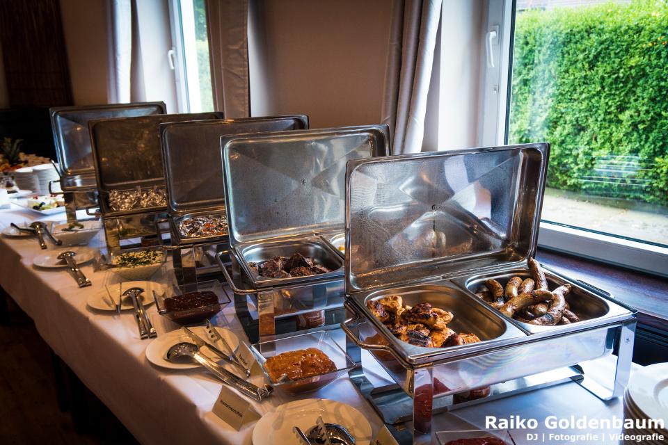 Gutshof Havelland Hochzeit Buffet