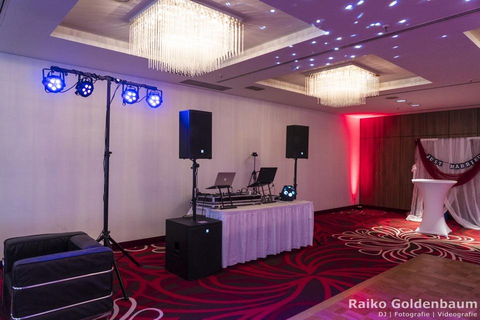 Hochzeitsfeier Hilton Hotel