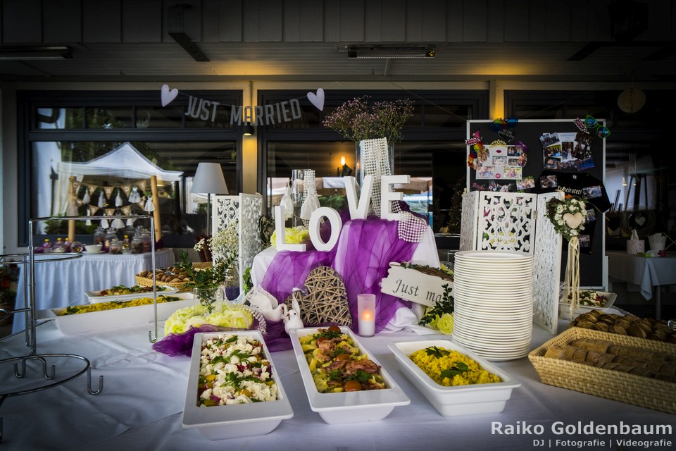 Hotel Ahrenberg Hochzeit Buffet