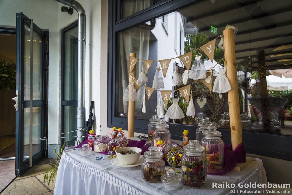 Hotel Ahrenberg Hochzeit Candybar