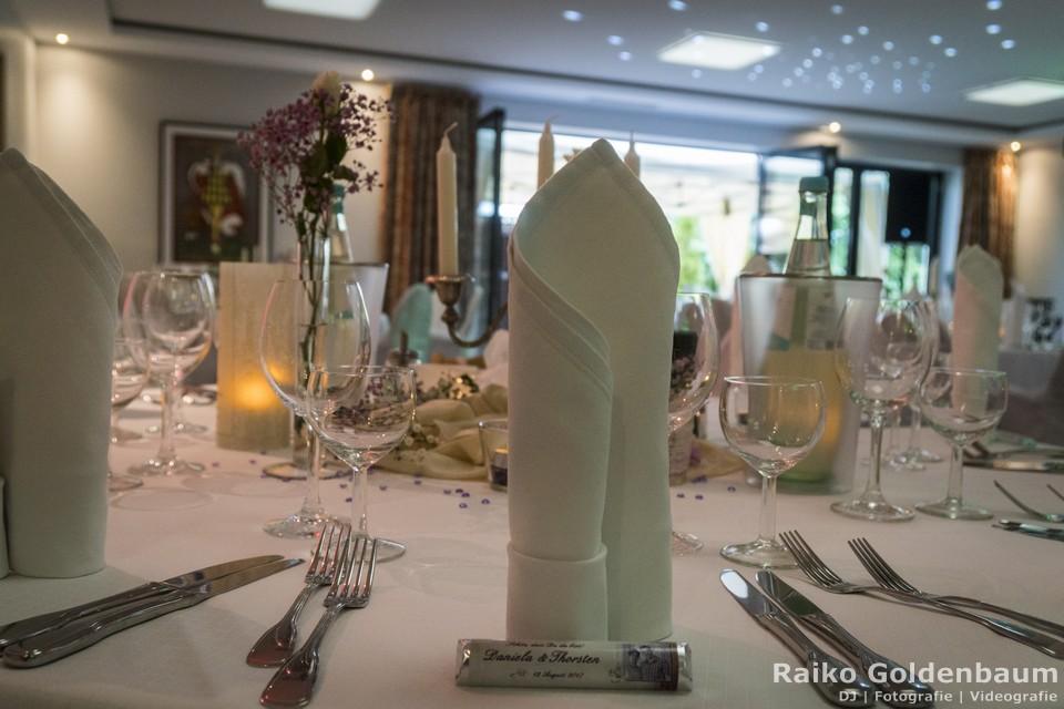 Hotel Ahrenberg Hochzeit Tisch