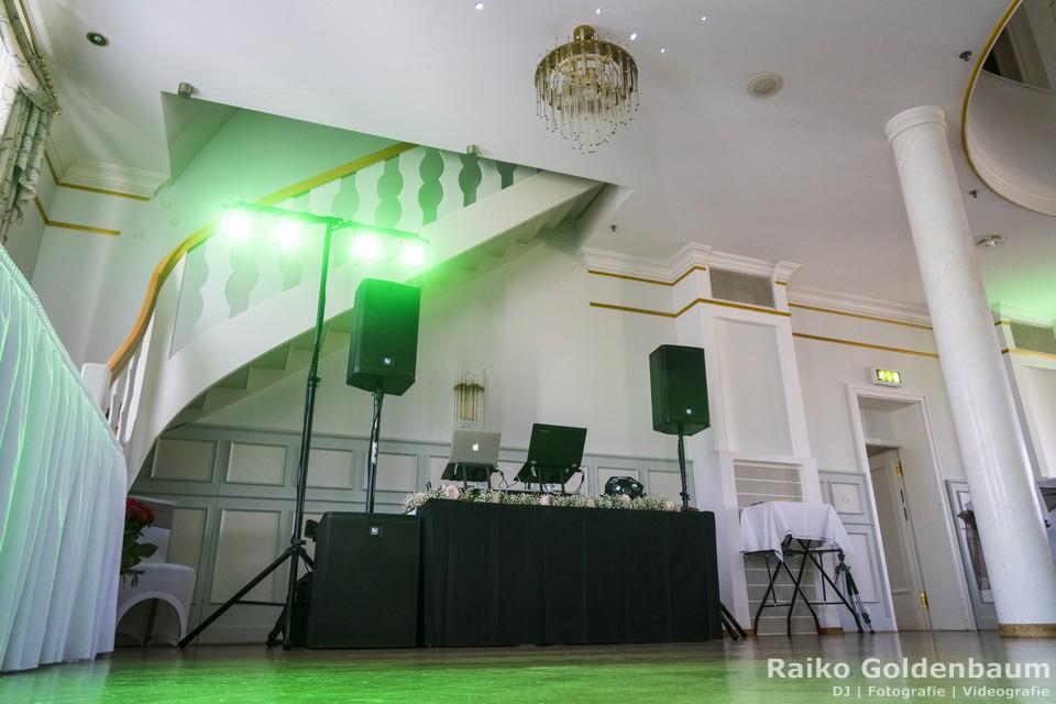 Schlosshotel Ballenstedt Großer Gasthof Hochzeit DJ