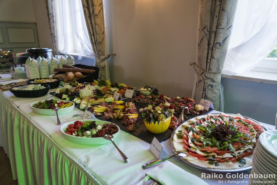 Schlosshotel Ballenstedt Großer Gasthof Hochzeit Buffet