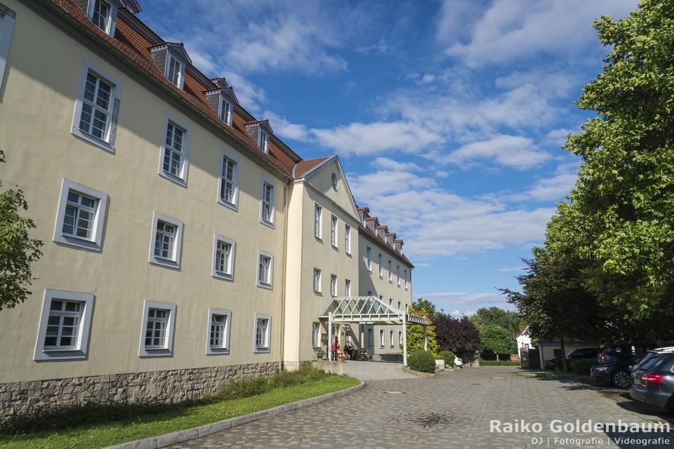 Schlosshotel Ballenstedt Großer Gasthof Hochzeit Rückseite