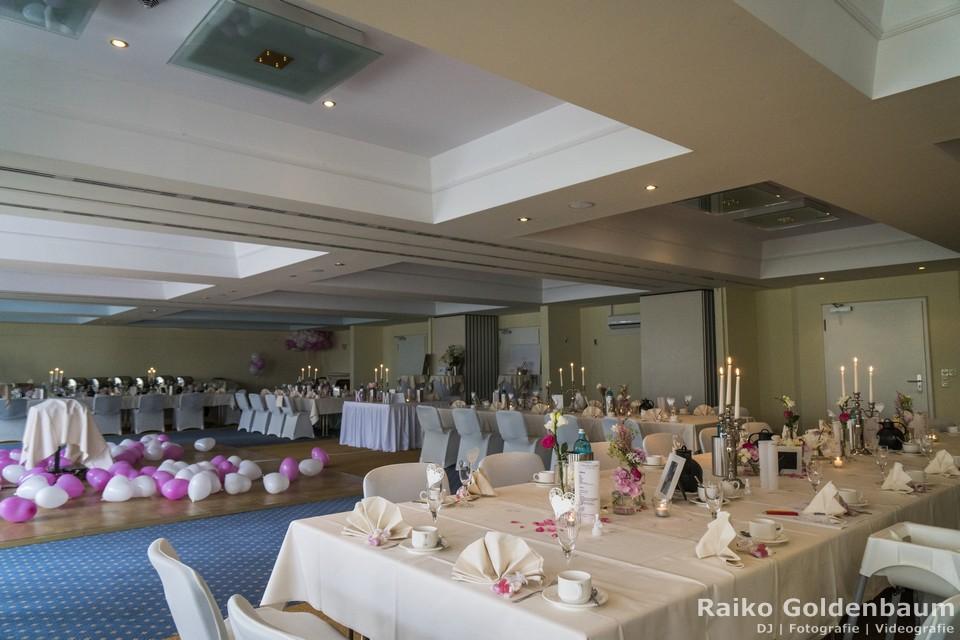 Seehotel Zeuthen Hochzeit Saal