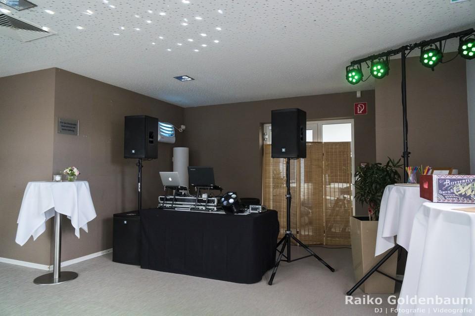 Aspria Hannover Maschsee Hochzeit DJ Technik