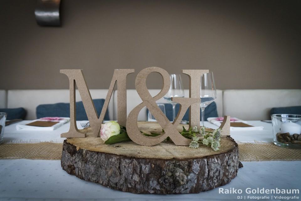 Aspria Hannover Maschsee Hochzeit Tischdeko