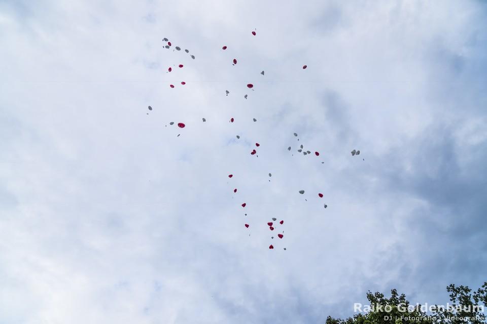 Landgasthof zum Mühlenteich Petershagen-Eggersdorf Ballons
