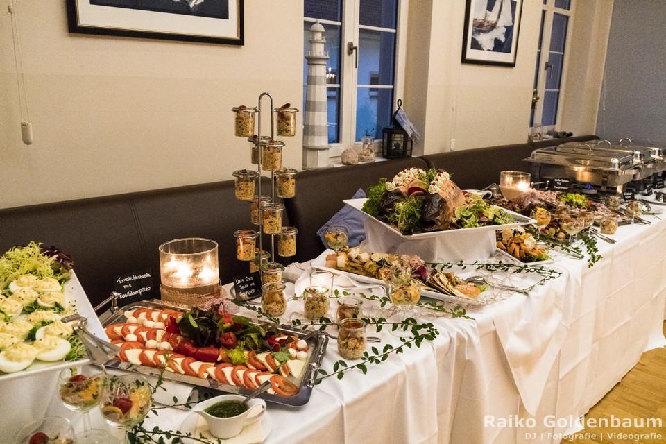 Café Wildau Hochzeit Abendessen