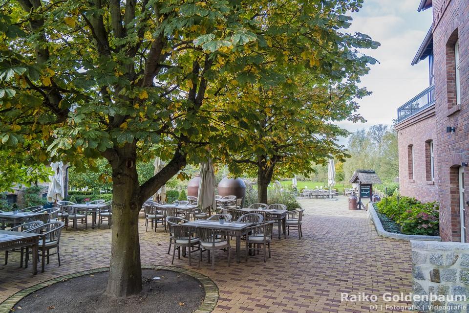 Spreewaldresort Seinerzeit Schlepzig Spreewald Hochzeit Terrasse