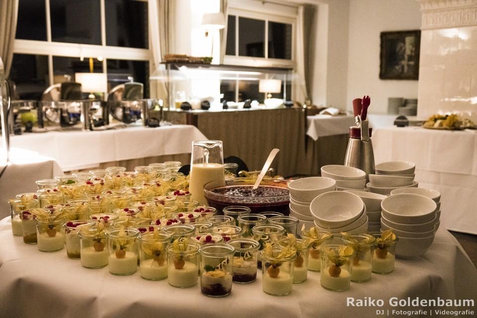 Spreewaldresort Seinerzeit Schlepzig Spreewald Hochzeit Dessert