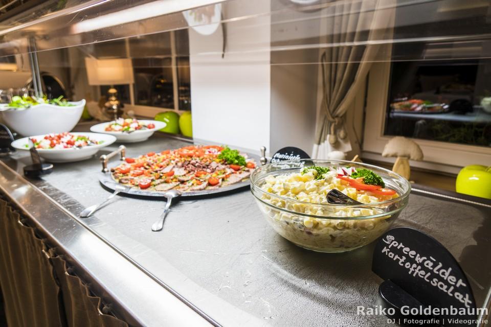 Spreewaldresort Seinerzeit Schlepzig Spreewald Hochzeit kalte Speisen