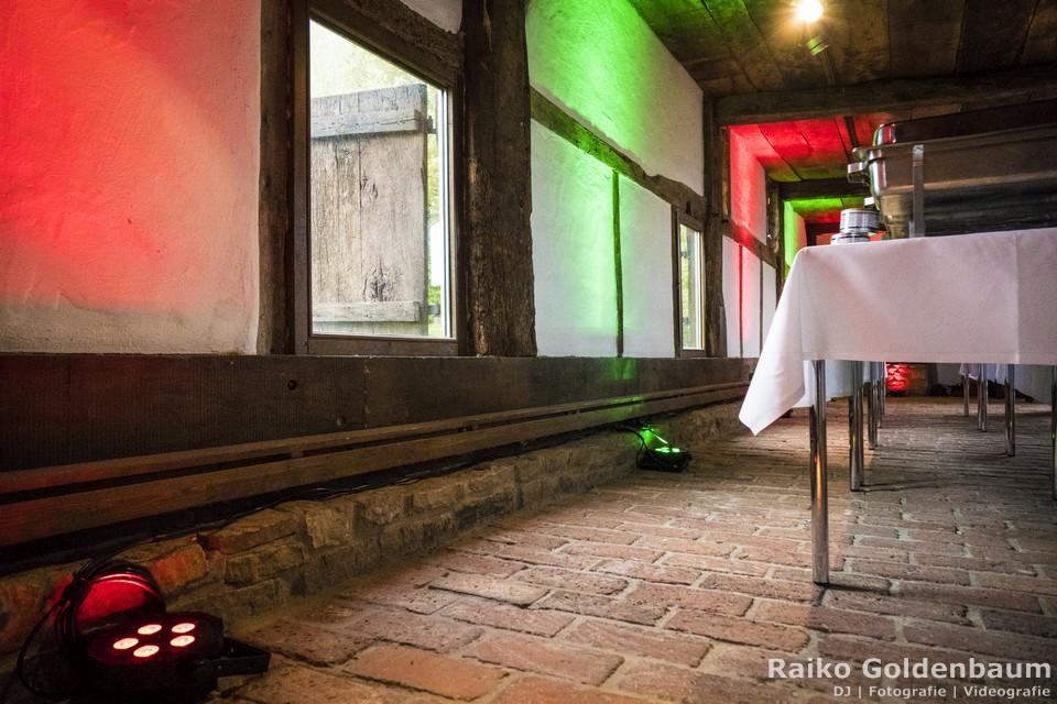 DJ Detmold Hochzeit Uplighting
