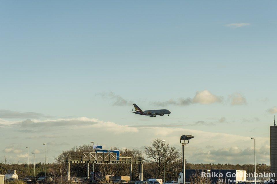 A380 in Frankfurt am Main ( FraPort )