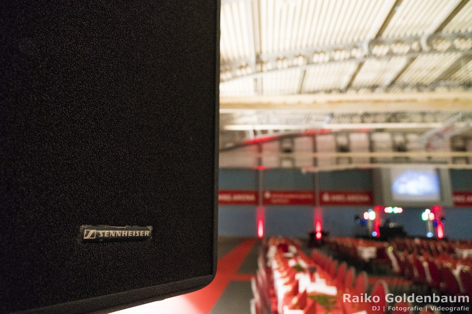 Corporate Event DJ Oranienburg MBS Arena Sennheiser LSP500