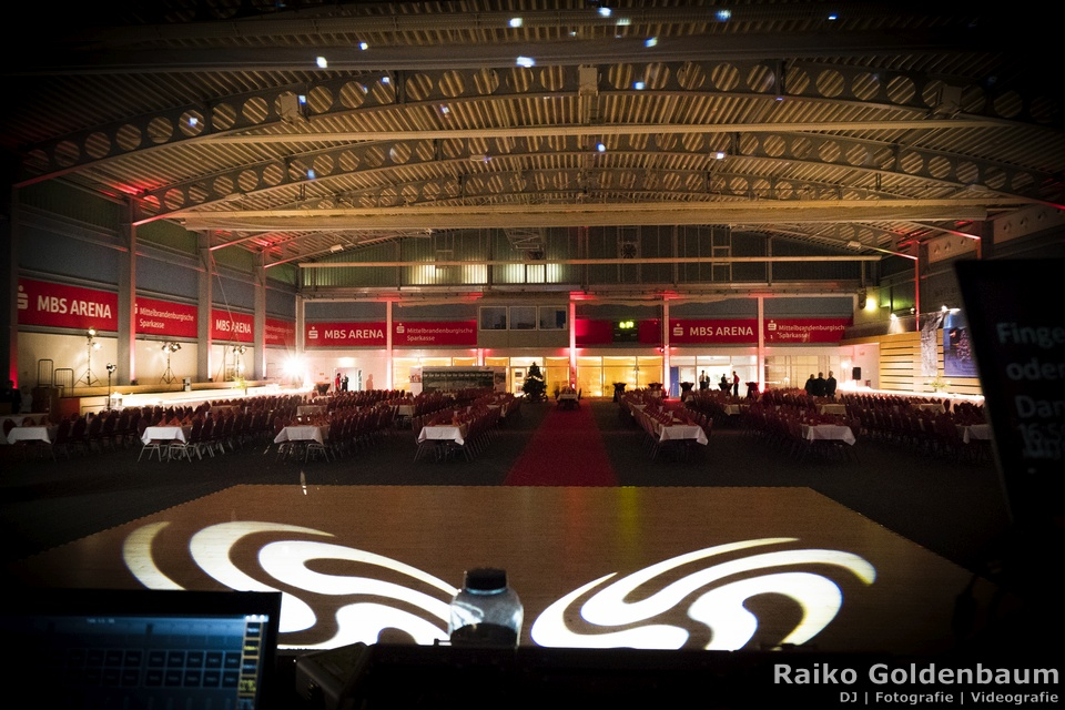 Corporate Event Discjockey Oranienburg MBS Arena