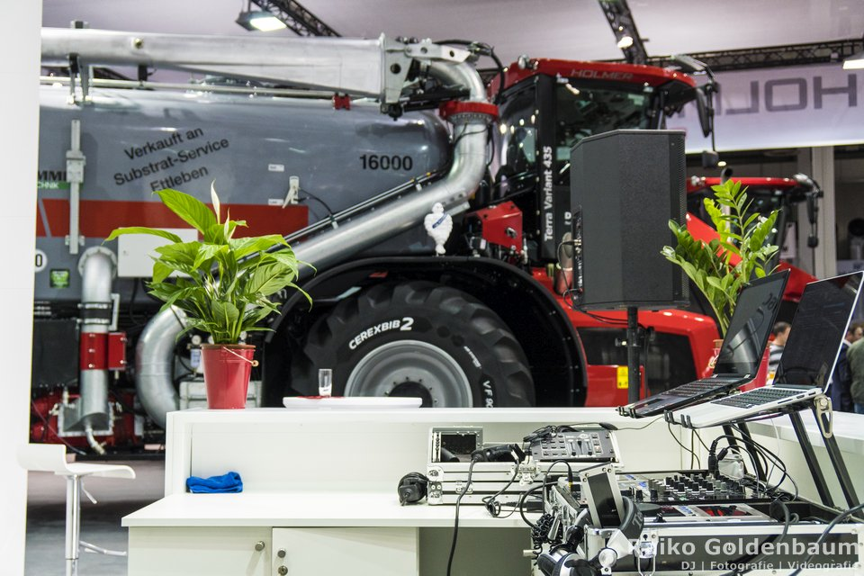 Messe DJ Hannover Agritechnica 2017