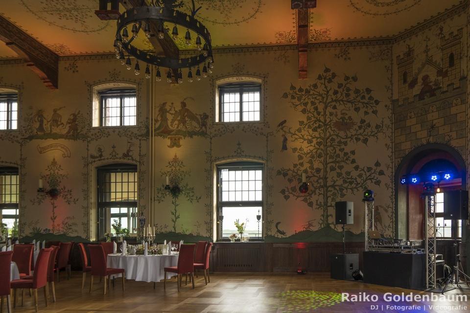 Hotel auf der Wartburg Wappensaal Hochzeit
