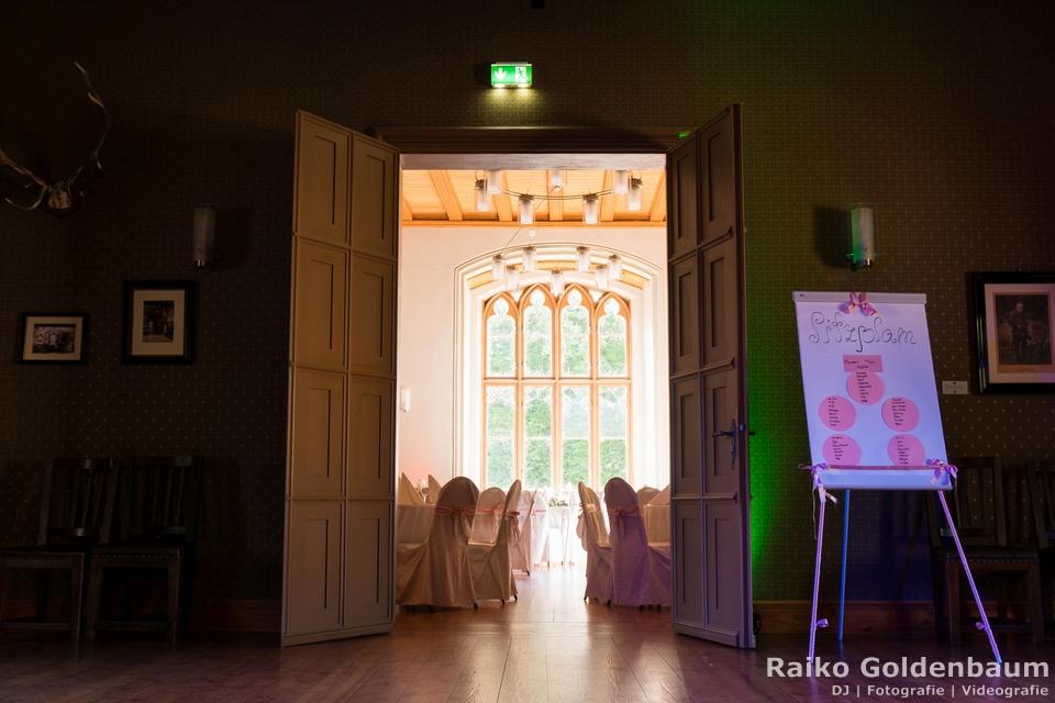 Jagdschloss Letzlingen  Heiraten Saal