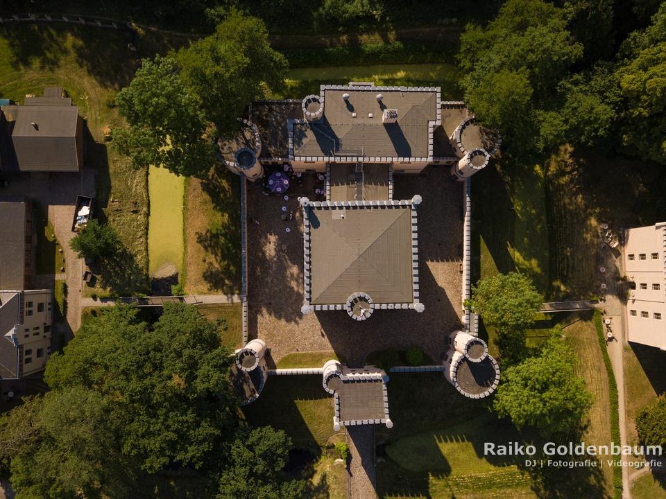 Jagdschloss Letzlingen Hochzeit Drohne
