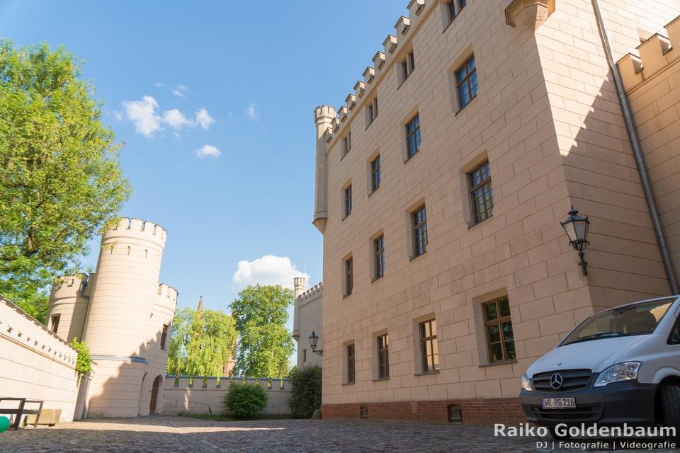 Jagdschloss Letzlingen  Hochzeit Innenhof