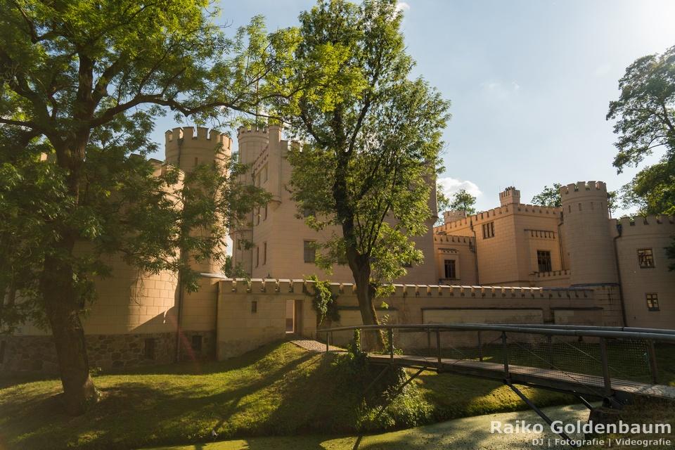 Jagdschloss Letzlingen Hochzeit Wassergraben