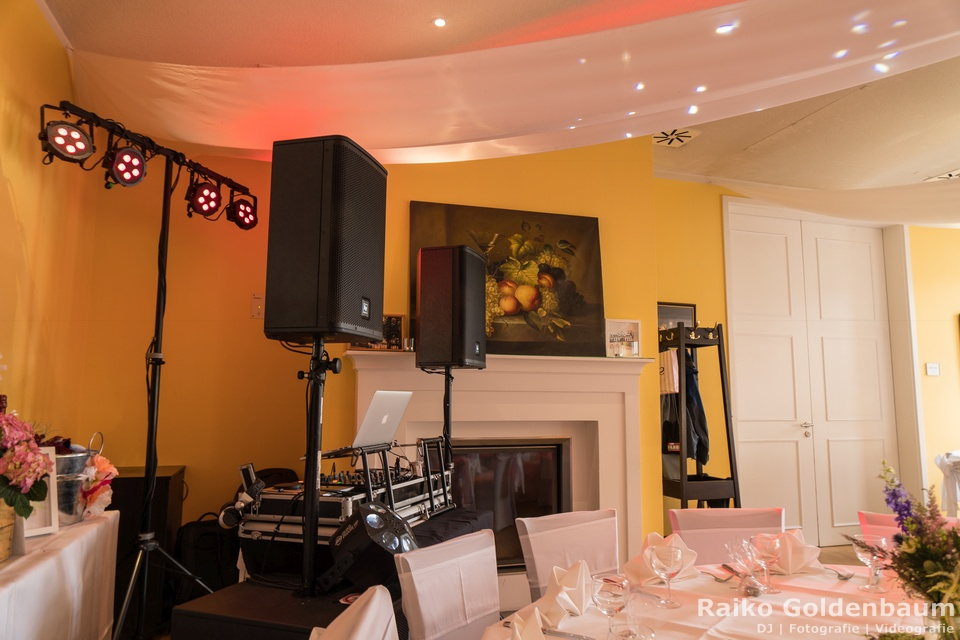 Hochzeit Hotel Café Wildau 2018 Technik
