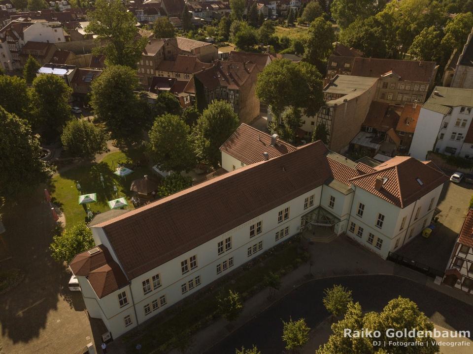 Puschkinhaus Mühlhausen Luftbild