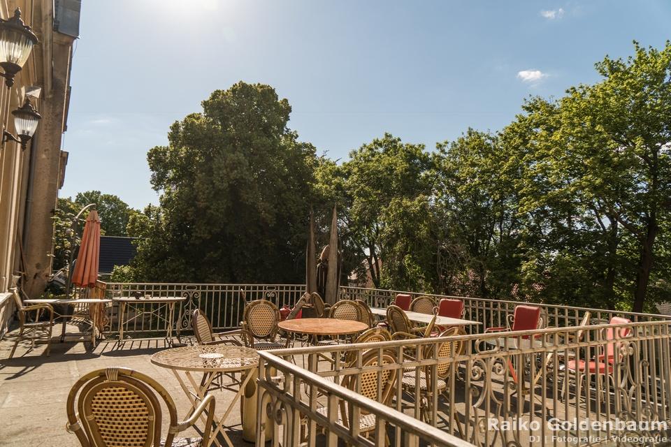 Schloss Beesenstedt 2018 Balkon