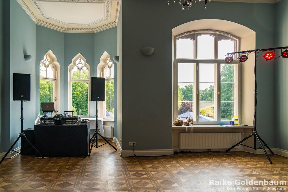 DJ Hochzeit Schloss Gamehl Wismar