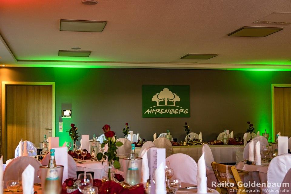 Hotel Ahrenberg Hochzeit 2018 Saal