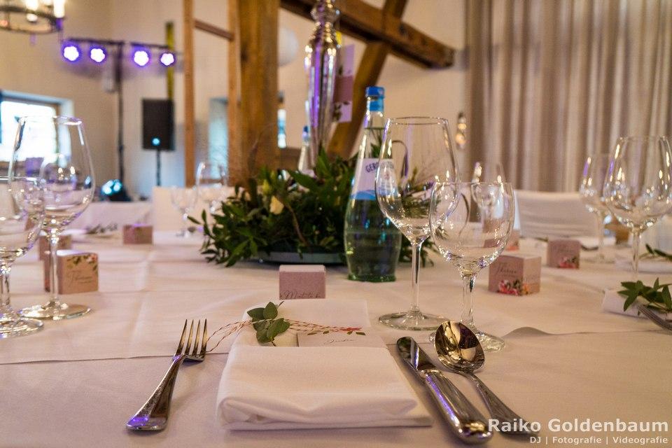 Hotel zum Rittmeister Hochzeitsfeier