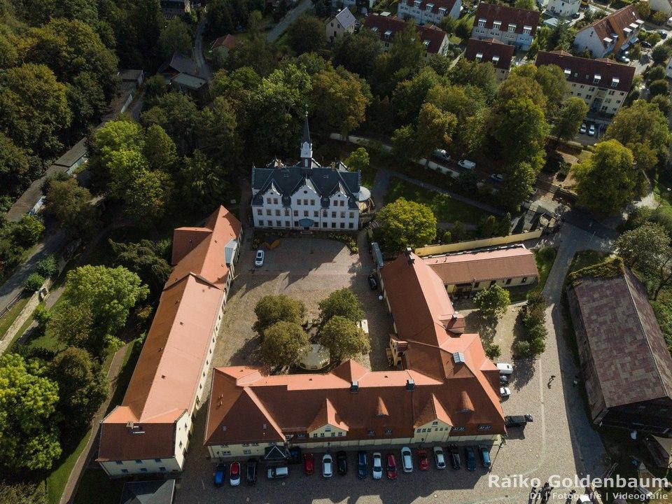 Schloss Burgk Freital Drohne