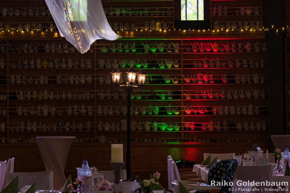Oschatz Park das O Hochzeitsfeier Teekannen